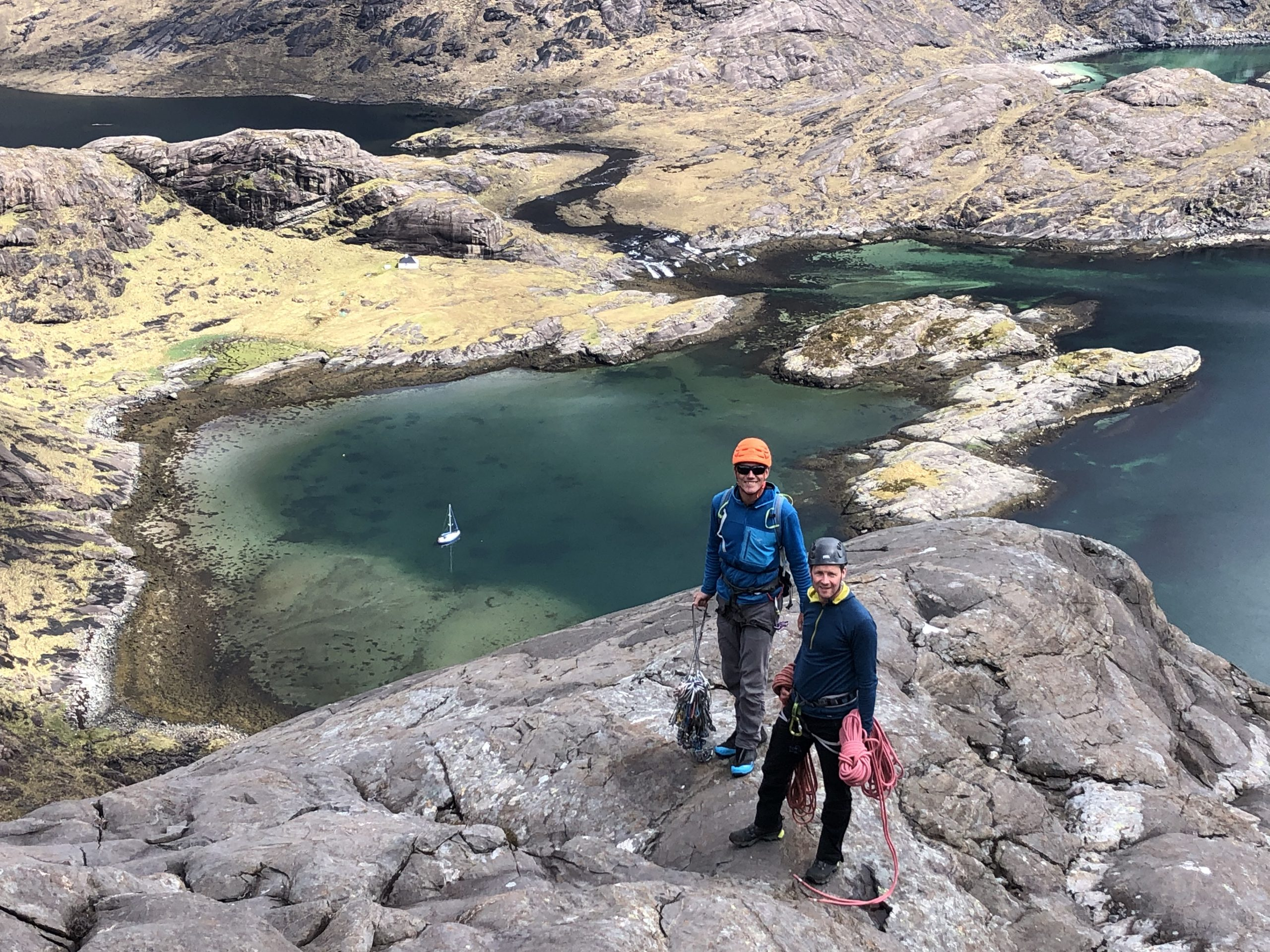 Climbing & Sailing in North West Scotland