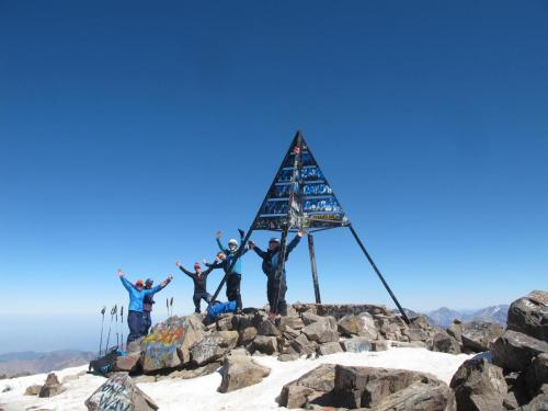 Jbel Toubkal summit