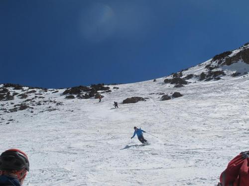 skiing Toubkal