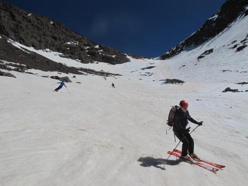 spring skiing Toubkal