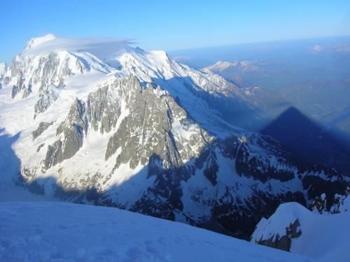 Aiguille-Verte-Summit-Shadow