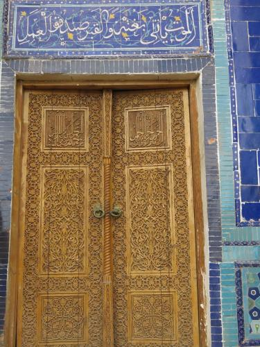 Carved-Door-Tiles-Samarkand-Uzbekistan
