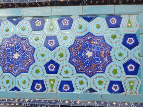 Intricate-Tile-Detail-Samarkand-Uzbekistan