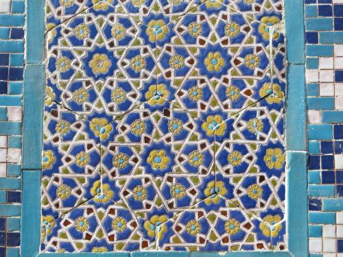 Mosaic-Tile-Uzbekistan